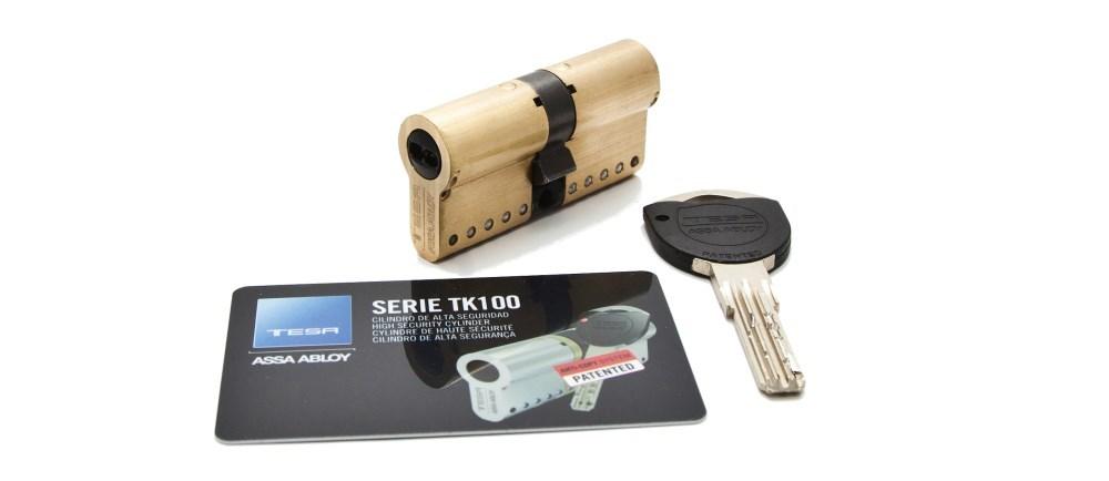 TESA ASSA ABLOY TK100 - Instalar Cambiar Bombin Cerradura Tesa TK100